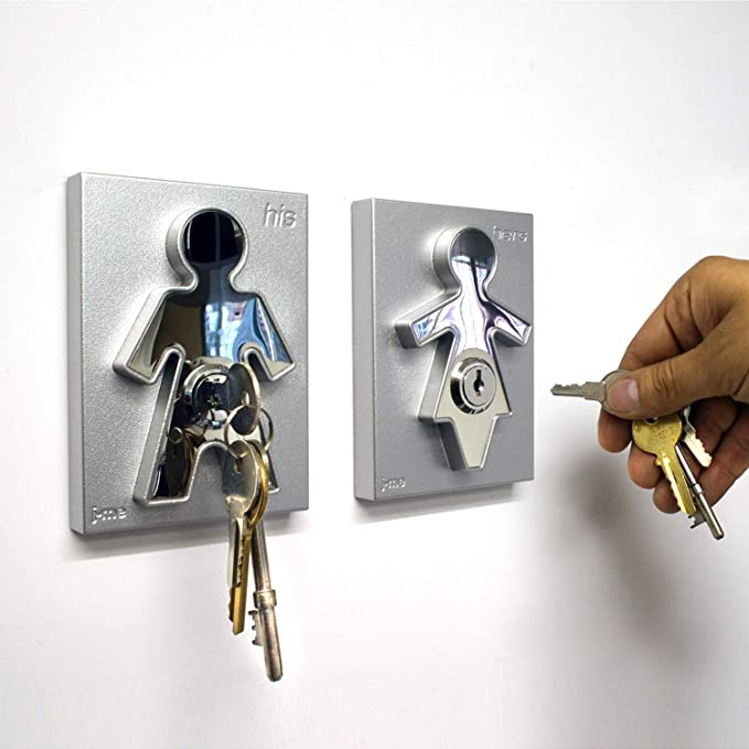 Wall Mounted Key Organizer for Couples