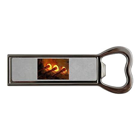 Compra Vidrio soplado horno acero inoxidable y abridor de botellas ...