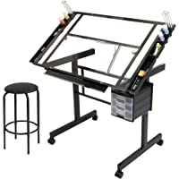 Studio Designs 2 Piece Vision Craft Center, Black