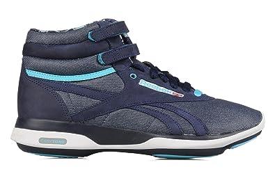 4ea4031b0139a Reebok Classic Easytone Freestyle Hi Mtl V43680 Blue cadet Ladies trainers  (UK 7)