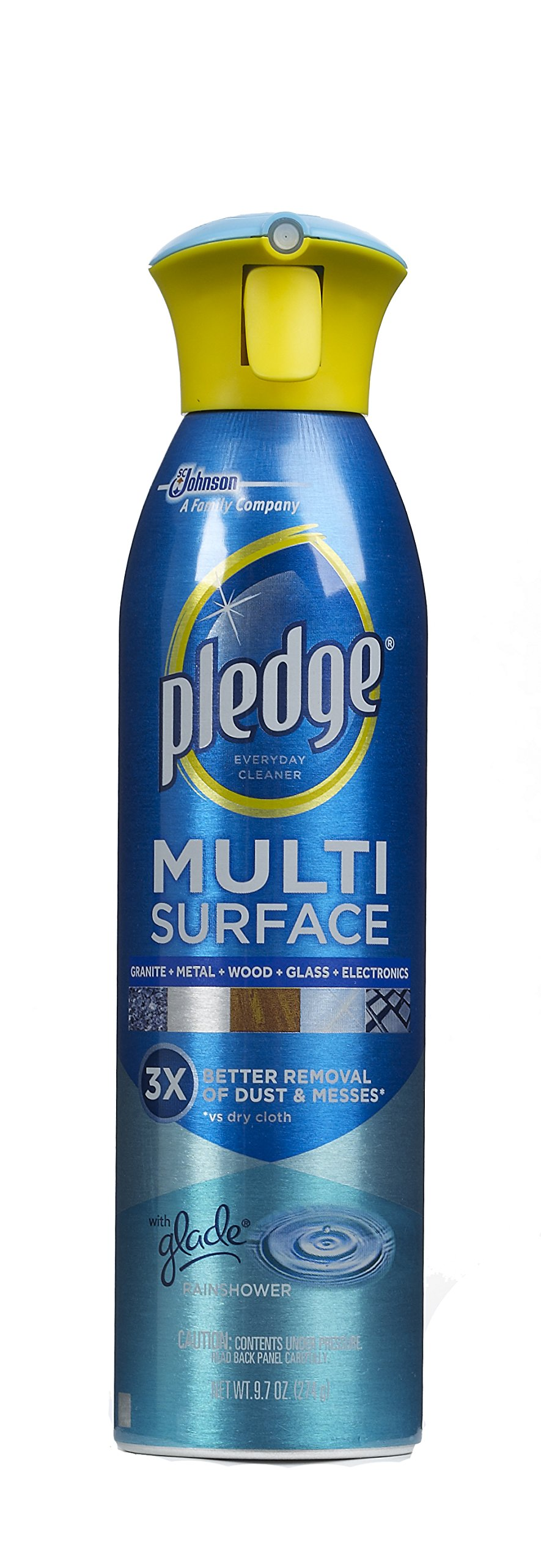 Pledge Multi-Surface Everyday Cleaner with Glade Rainshower (Aerosol, 9.7-Ounce) by Pledge