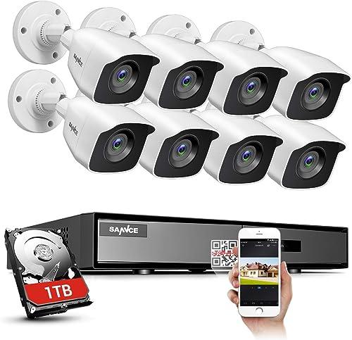 SANNCE 8CH HD-TVI Security Camera System
