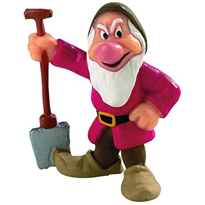 12478 - BULLYLAND - Walt Disney Blanche Neige - Figurine Nain Grincheux