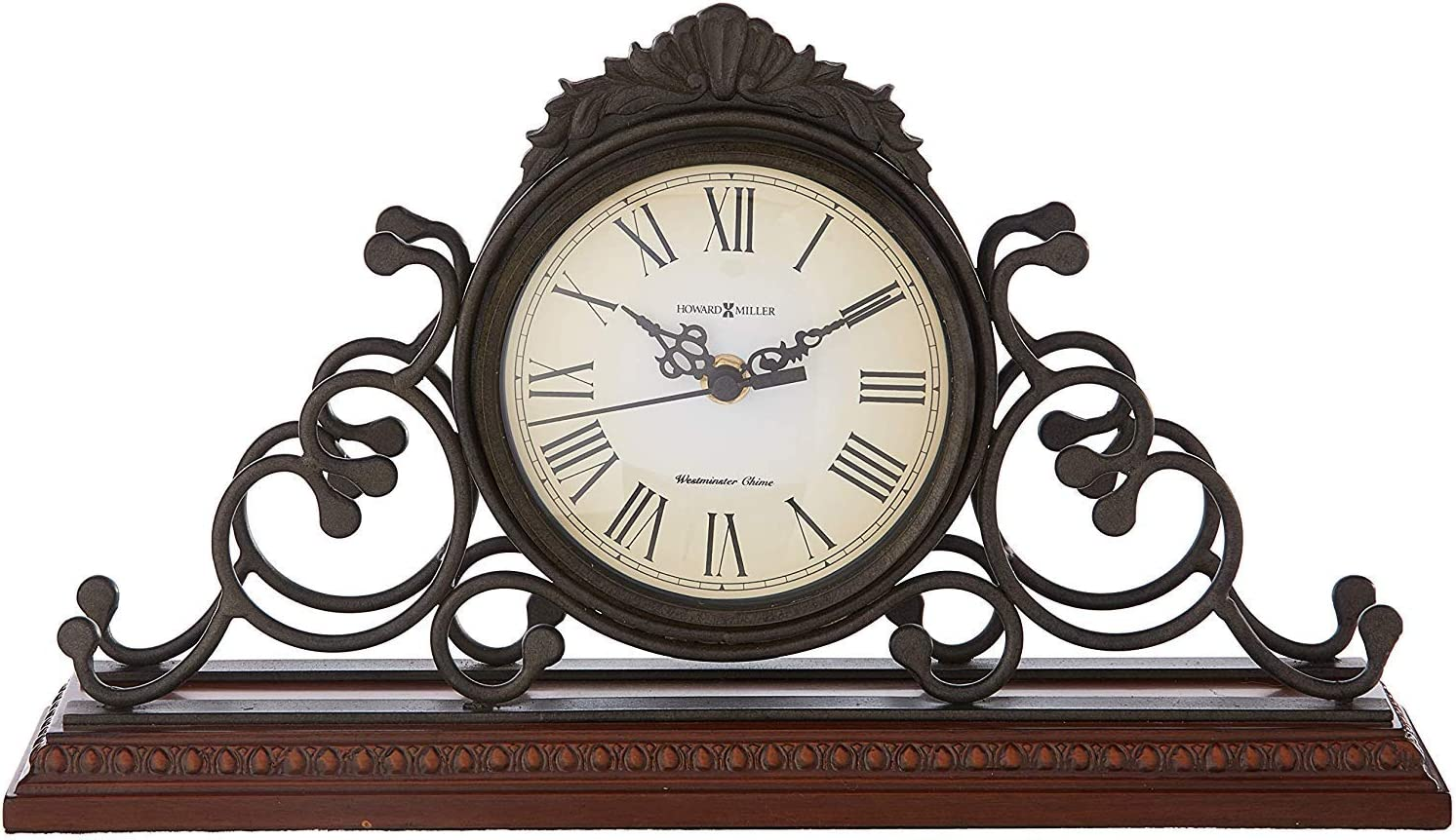A picture of Howard Miller Adelaide Mantel Clock 635-130  , which is one of the best mantel clocks out there