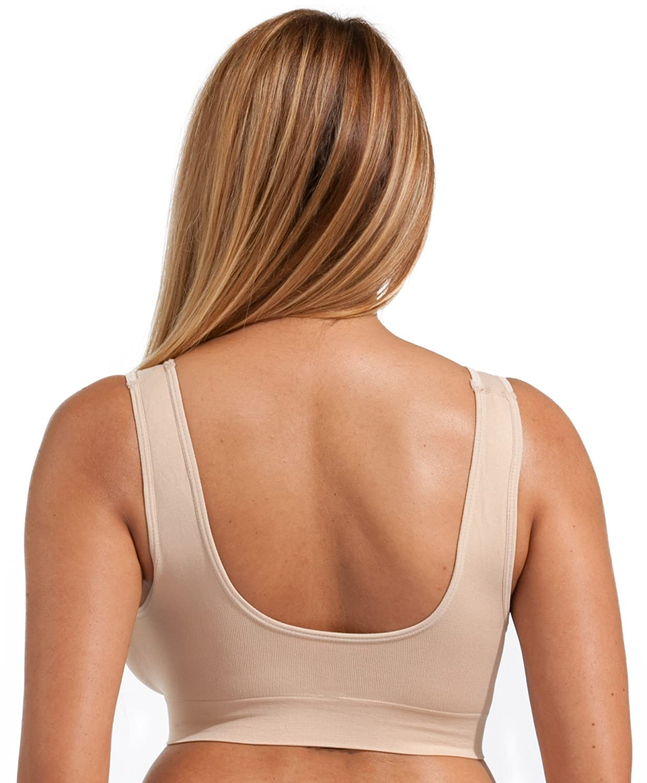 006a354f577 Unpadded Seamless bra by Marielle (3 pack of standard