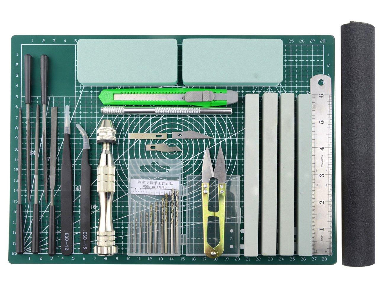 Modeler Basic Tools Craft Set for Gundam Car Model Building