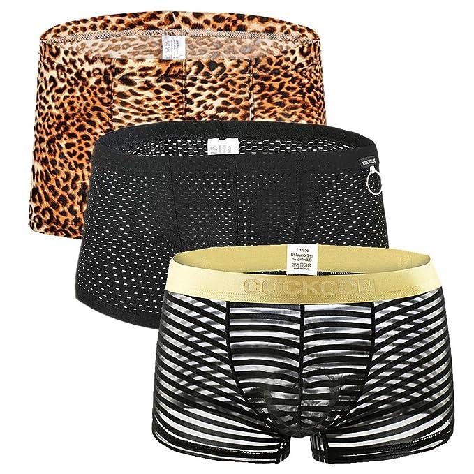 Faux Real Mens 3D Photo-Realistic Boxer-Brief Underwear
