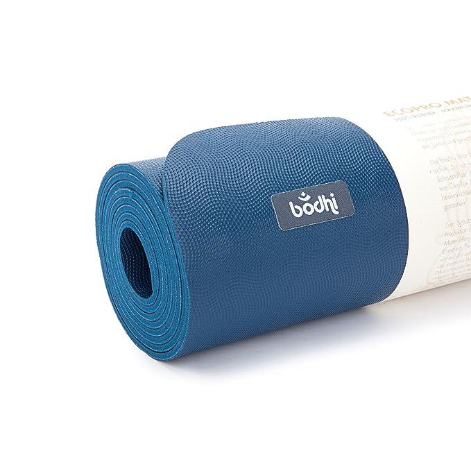 ECOPRO XL - Esterilla de yoga (caucho) ozean: Amazon.es ...