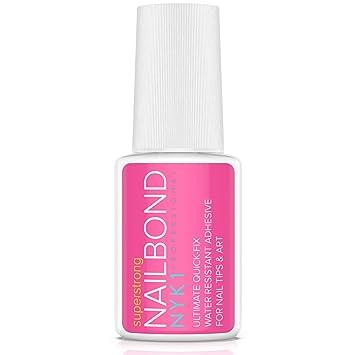 Amazon.com: NYK1 pegamento adhesivo para pegamento de uñas ...