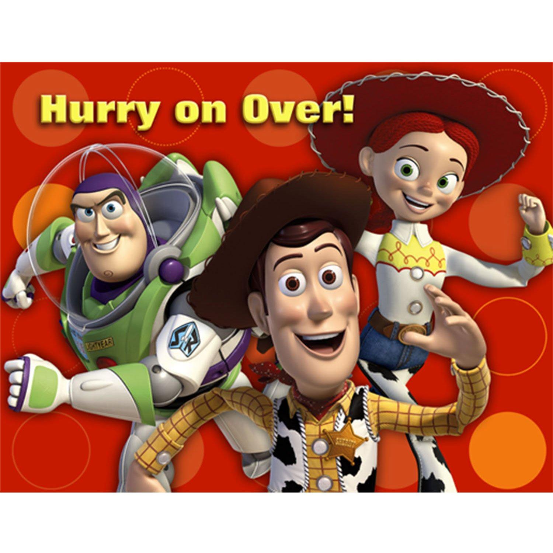 Thermos - Toy Story 3 - Invitations (8 Pièces) Hallmark 161298