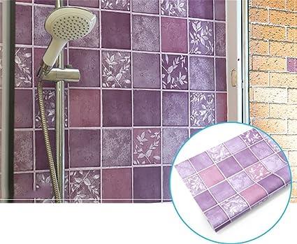 Alger adesivi igienici adesivi murali impermeabili bagno carta da