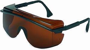 Uvex S2506 Astrospec OTG 3001 Safety Eyewear, Black Frame, SCT-Gray Ultra-Dura Hardcoat Lens