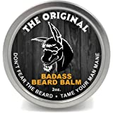 Badass Beard Care Beard Balm For Men - The Original Scent, 60ml - All Natural Ingredients, Soften Hair, Hydrate Skin to Get Rid of Itch and Dandruff, Promote Healthy Growth
