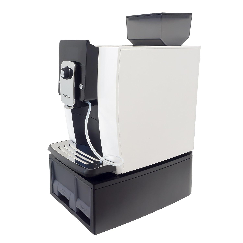 Viesta One Touch Premium 1000 Máquina de café automática - Alta potencia (1,8 litros, 19 bar, 1400 Watt, Pantalla LCD) - Máquina de café Modelo 2017: ...
