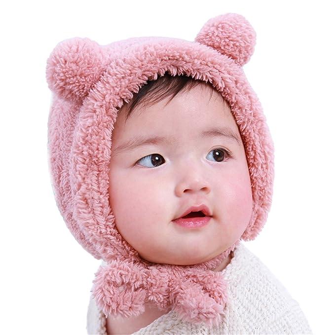 MIOIM Bebé recién nacido Gorro de oso Animal Historieta Cálido ...