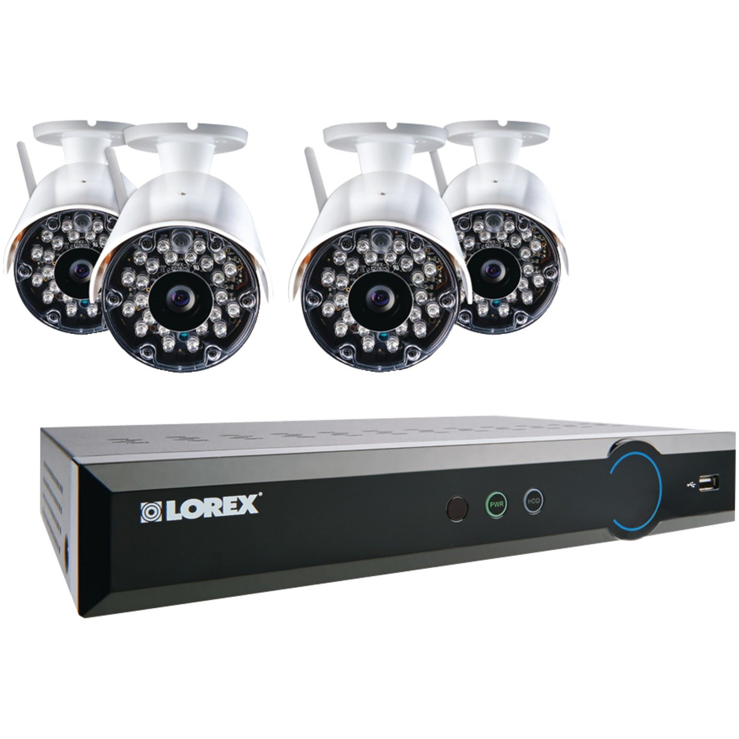 LOREX LH03081TC4W 8-Channel Stratus DVR Black