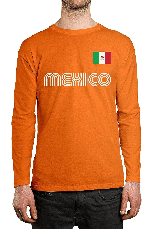 SpiritForged Apparel Mexico Soccer Jersey Men s Long Sleeve Shirt ... 3bdb2019e
