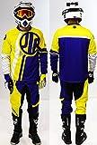 Traje Conjunto Traje pantalón guantes moto Cross Quad montaña BMX JLP Racing talla 38US/2x l