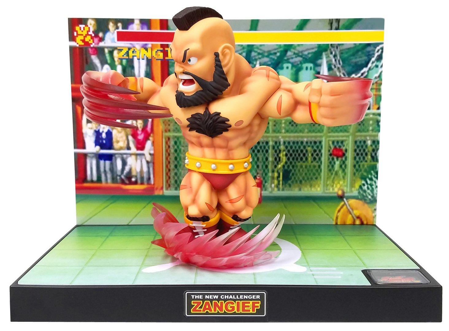 Street Fighter T.N.C. 07: Zangief PVC Figura