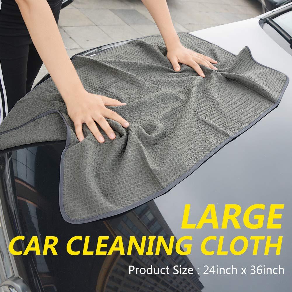 Speed Master Wheel Brush Kit With Junior Brush Microfiber Waffle Weave  Towels