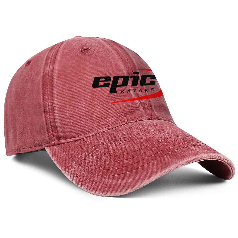 Baseball Hats Epic-Kayak-Logo Snapback Mens Womens Adjustable Denim Rock Cap