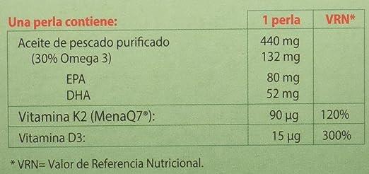 100% natural NutriMK7 Vitaminas - 60 Cápsulas: Amazon.es: Salud y ...