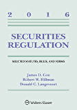 Securities Regulation: Selected Statutes Rules and Forms 2016 Supplement (Supplements)