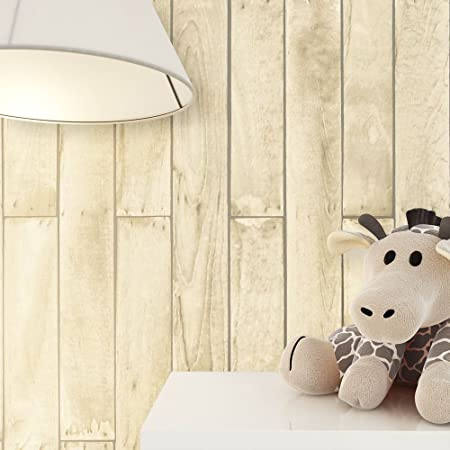 Newroom Wallpaper Children Kids Brown Wood Panels Wood