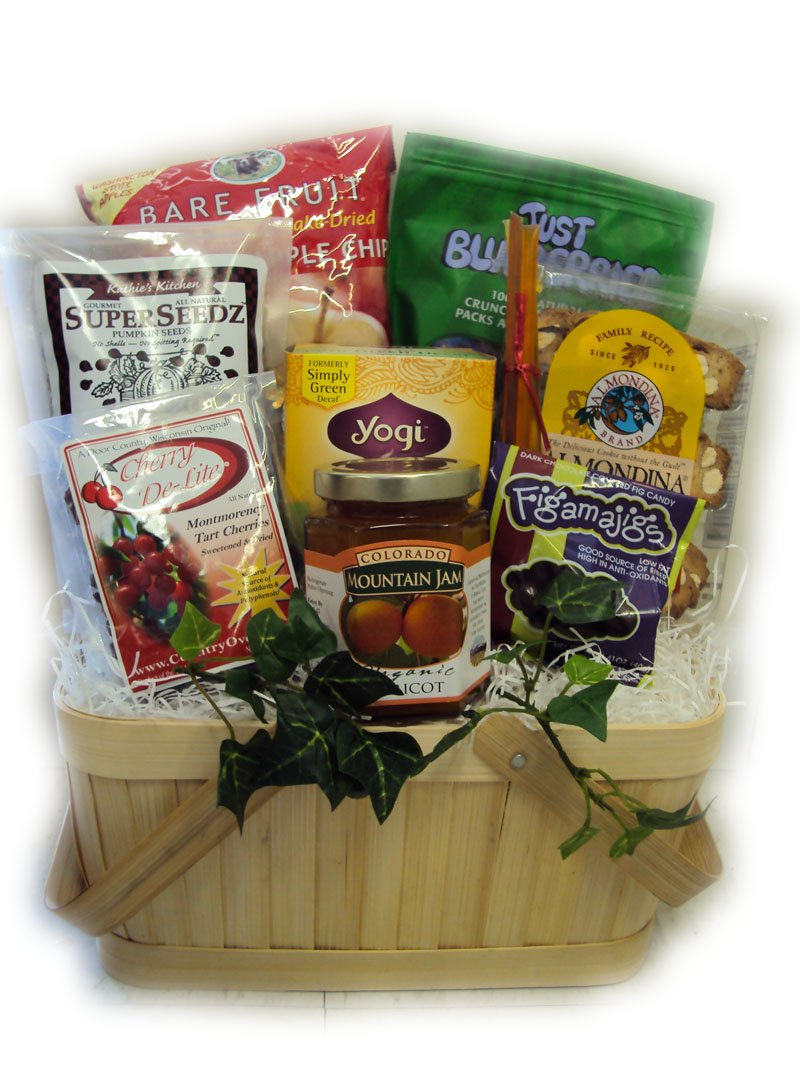 Low-Sodium Heart Health Sampler Basket by Well Baskets
