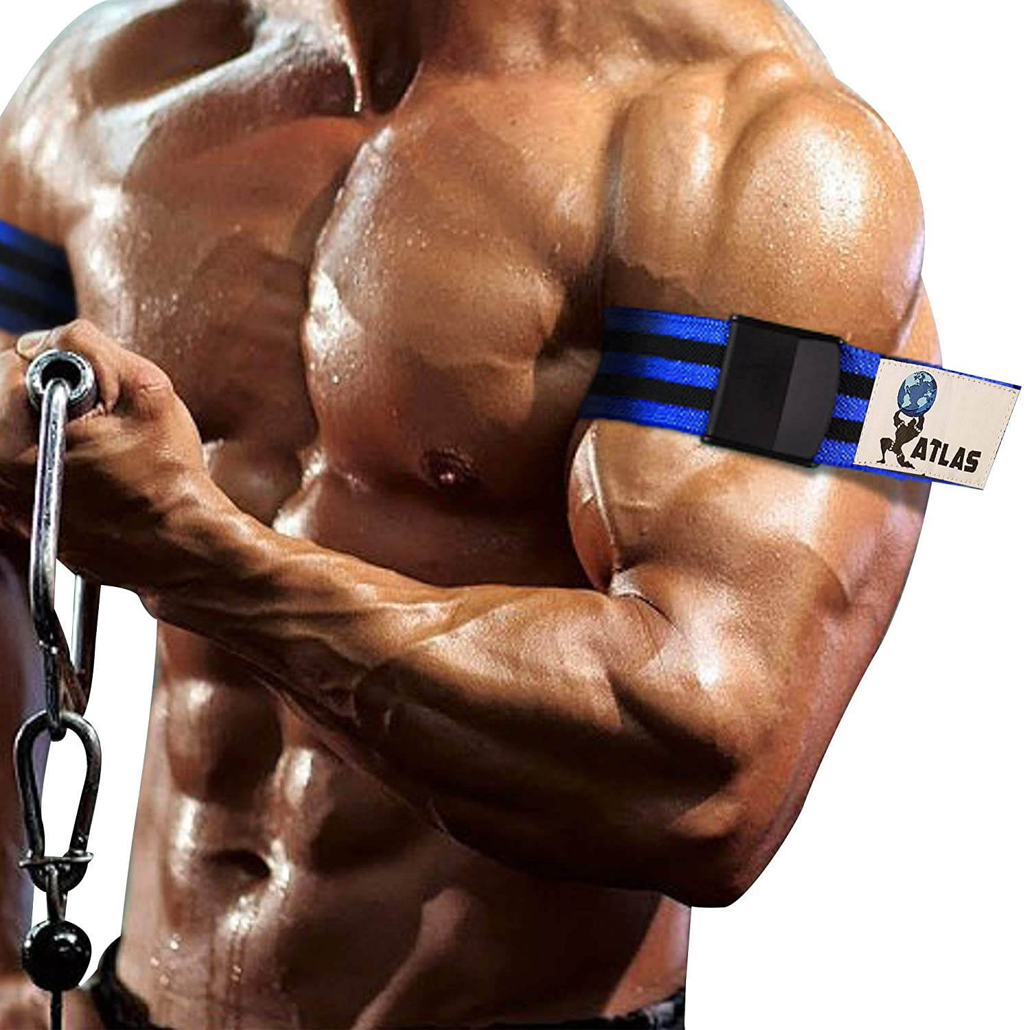 ATLAS Occlusion Training Bands Get Lean Muscles Without Lifting Heavy Weights, Blood Flow Restriction Bands BFR