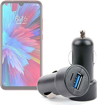 DURAGADGET Práctico Divisor De Auriculares para Smartphone Xiaomi Redmi Note 7 Pro: Amazon.es: Electrónica