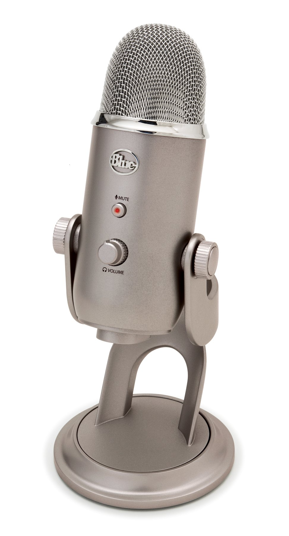 Blue Yeti USB Microphone, Platinum (Renewed) by Blue Microphones (Image #4)