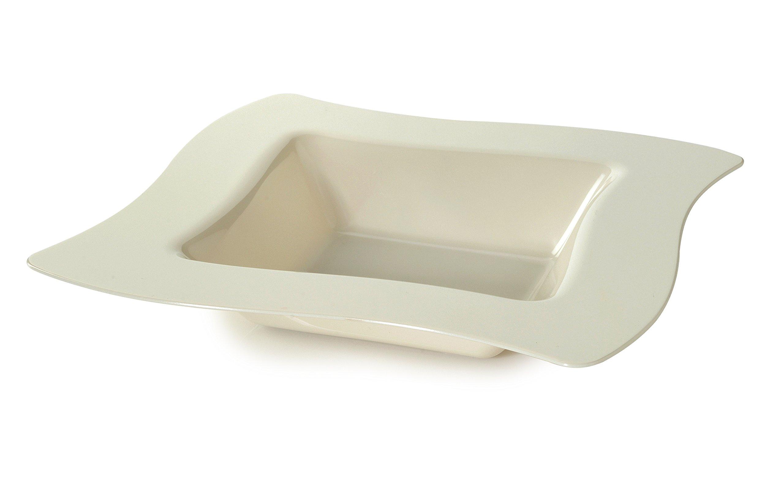 Fineline Wave trends 12 oz Bowl (Case of 120) (10 x 12), Bone