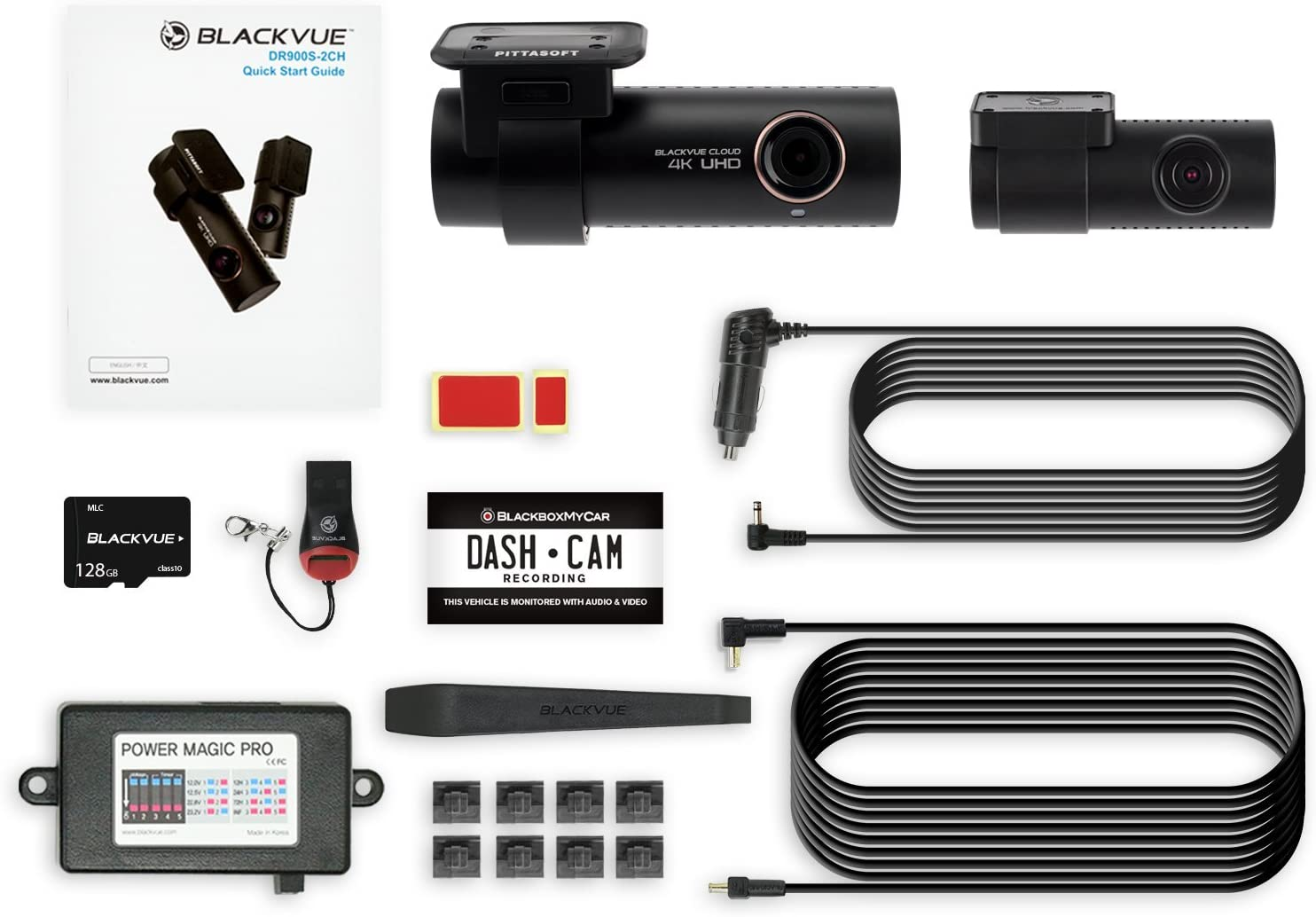 Blackvue BV-KIT107 4K Dashcam