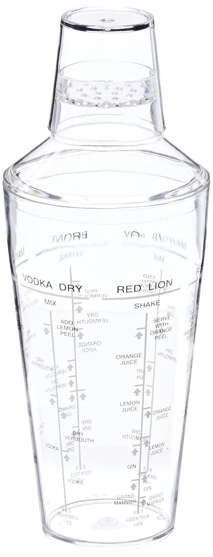 Paderno World Cuisine Acrylic 22 3//8-Ounce Cocktail Shaker 41483-06