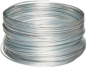 Ook 50141 100' 12 Gauge Galvanized Steel Hobby Wire