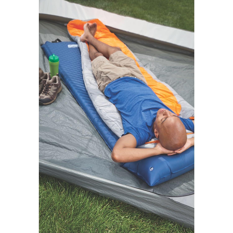 Self Inflating Camp Pad Pillow Sleeping Bed Mat Hiking Bed
