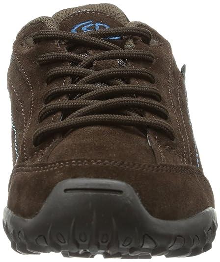 Bruetting Racewalk - Zapatos para caminar de cuero mujer, color marrón, talla 40