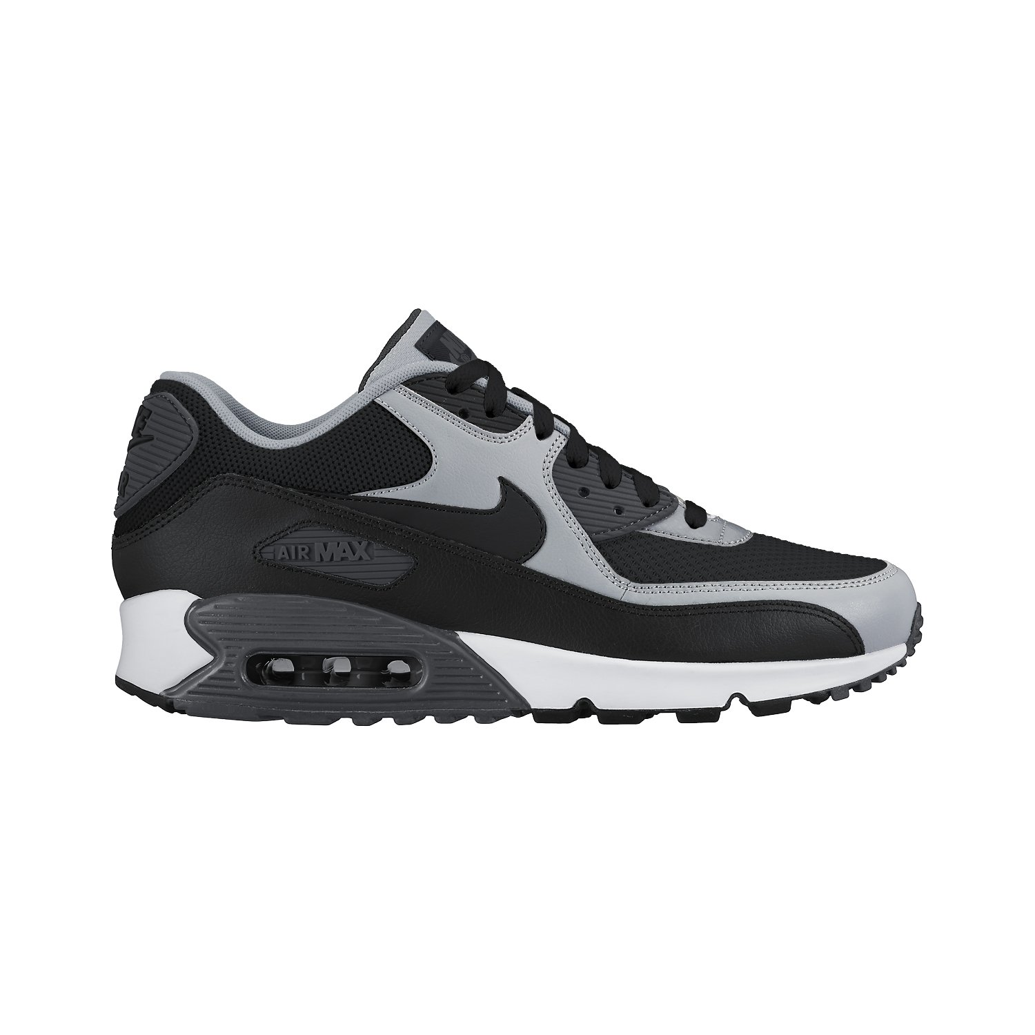 detailed look 781ad f78a9 Galleon - Nike Men s Air Max 90 Essential Trainers, Negro Gris  (Black Black-Wolf Grey-Anthrct), 9 UK