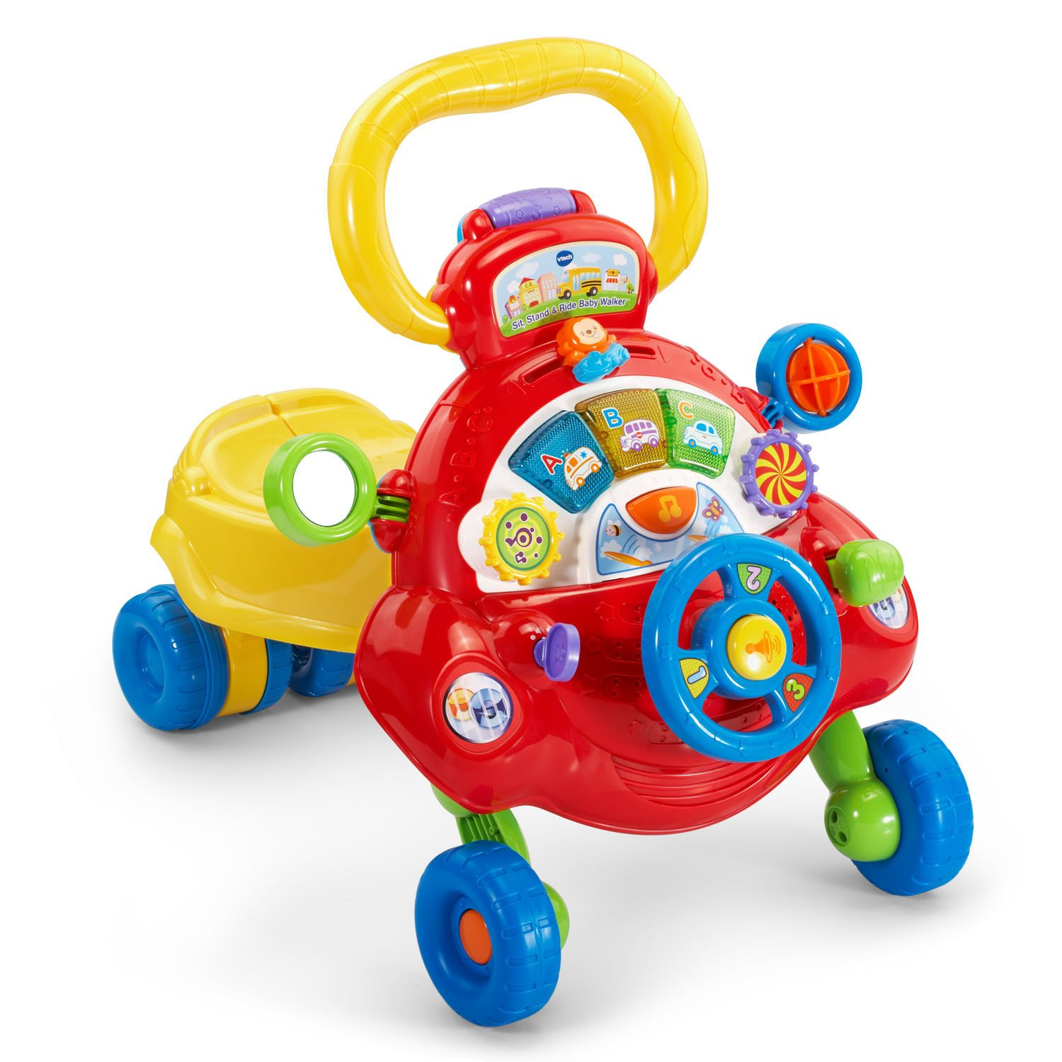 VTech Sit, Stand and Ride Baby Walker (Frustration Free Packaging) (Amazon Exclusive) by VTech (Image #12)