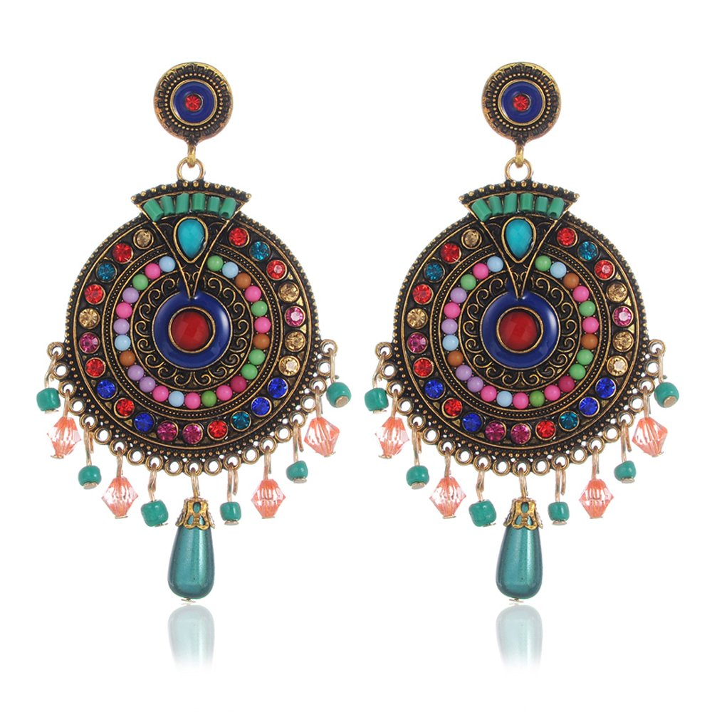 Shining Diva Fashion Jewellery Fancy Party Wear Earrings (Multicolor) product image