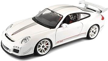 Bburago 11036BL Porsche 911 997 GT3 RS 4.0 blau 1:18 Modellauto