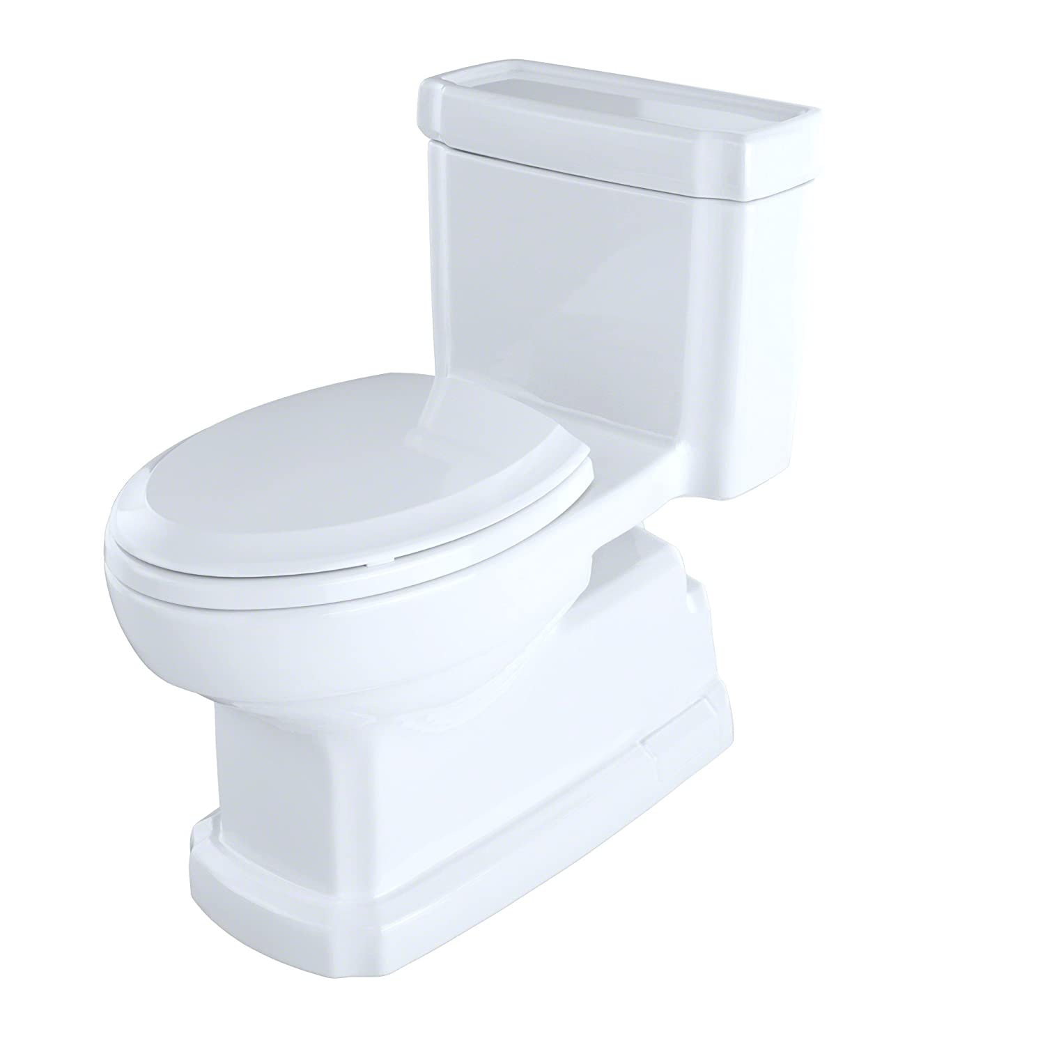 TOTO MS974224CEFG#01 Eco Guinevere One Piece Toilet with Sanagloss ...