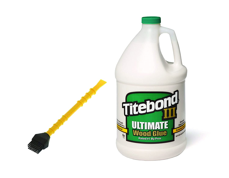 Titebond Ultimate III 3.8 L + Silikon Titebond titebrush 20 cm Franklin International