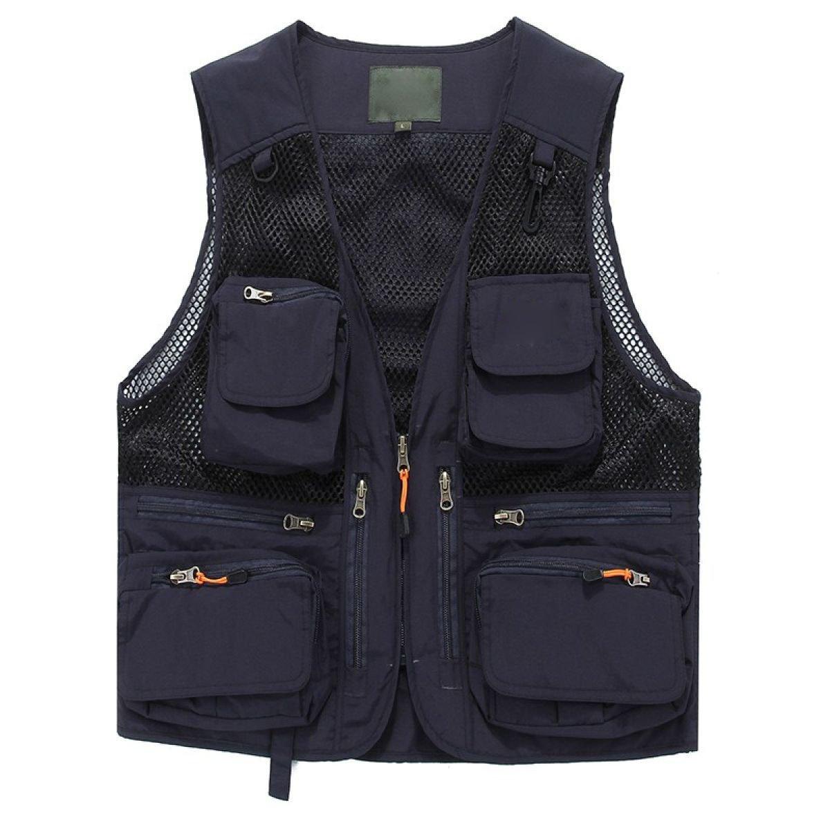 Gilet Männlich Sommer Atmungsaktiv Schnell Mesh Im Freien Multi Multi Multi Pocket Angeln Werbung Und Arbeitskleidung Weste B073TYQJRC Jacken Vollständige Spezifikationen 3a9e2a