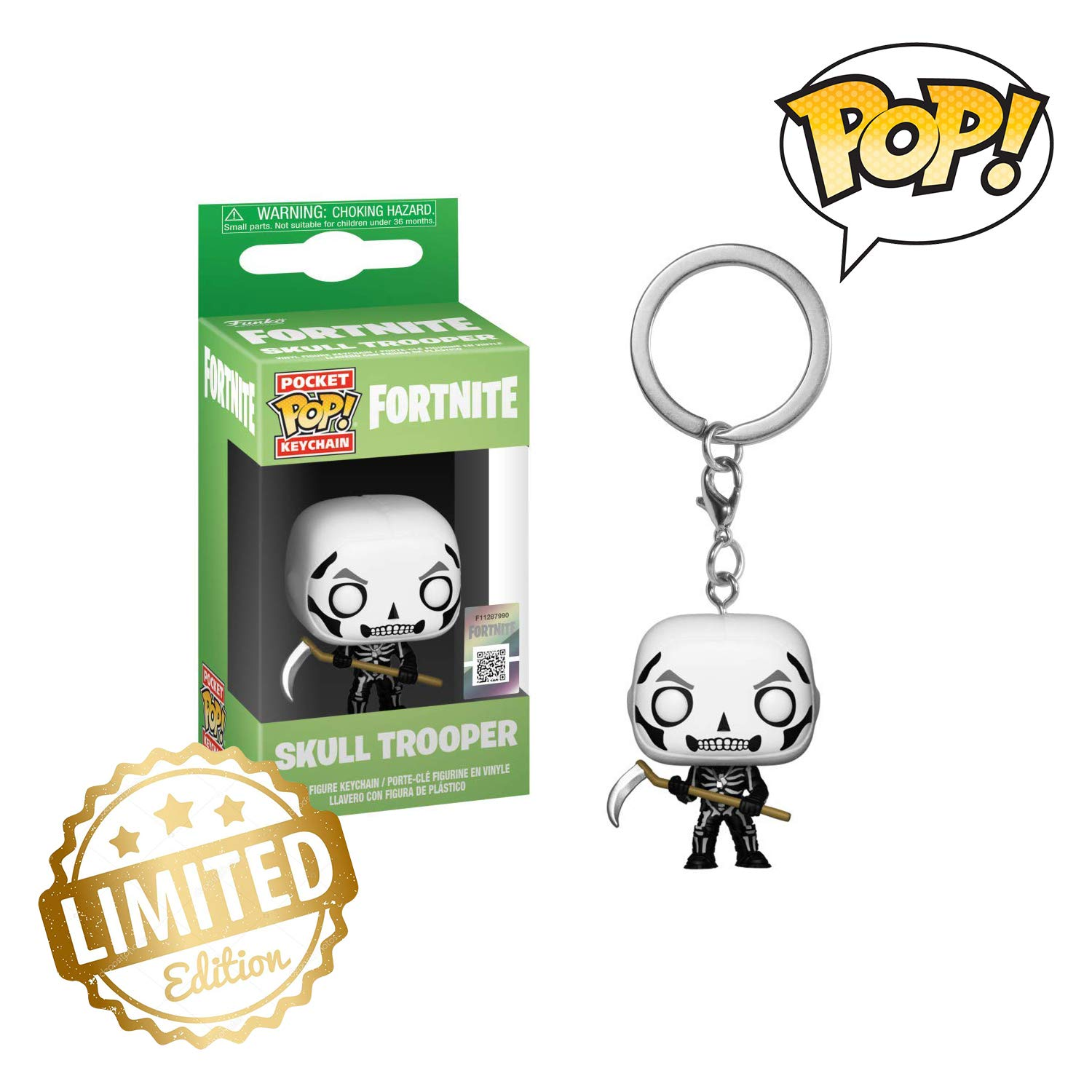 Amazon.com: Funko Pop! Llavero: Fortnite - Trooper de ...