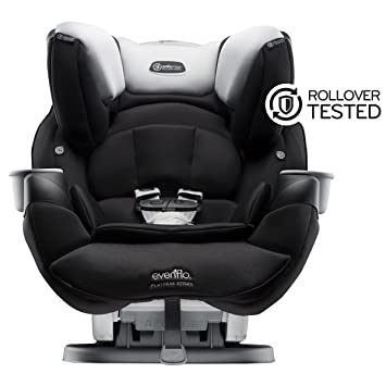 Evenflo Platinum SafeMax All In One Car Seat Shiloh Black Grey
