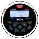 Amazon Price History for:BOSS Audio MGR350B In-Dash, Marine Gauge, Bluetooth, Digital Media MP3 / WMA / USB / AM/FM Weather-Proof Marine Stereo, (No CD Player)