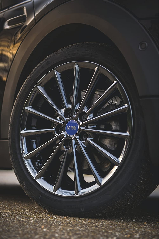 Mini Genuine Centre Wheel Hub Cap Covers Set of 4 Blue F55 F56 36132360947
