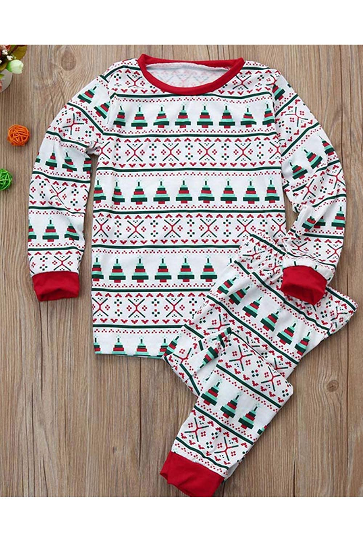 1 Weihnachten.Damen Familie Weihnachten Schlafanzug Hatte Baby Floral Lange ärmel